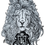 lion-embroidery